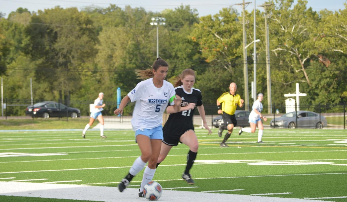 Westminster Women's Soccer Blanks Blackburn