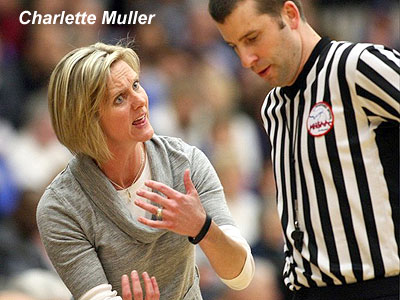 Charlette Muller Joins Women's Hoops Staff