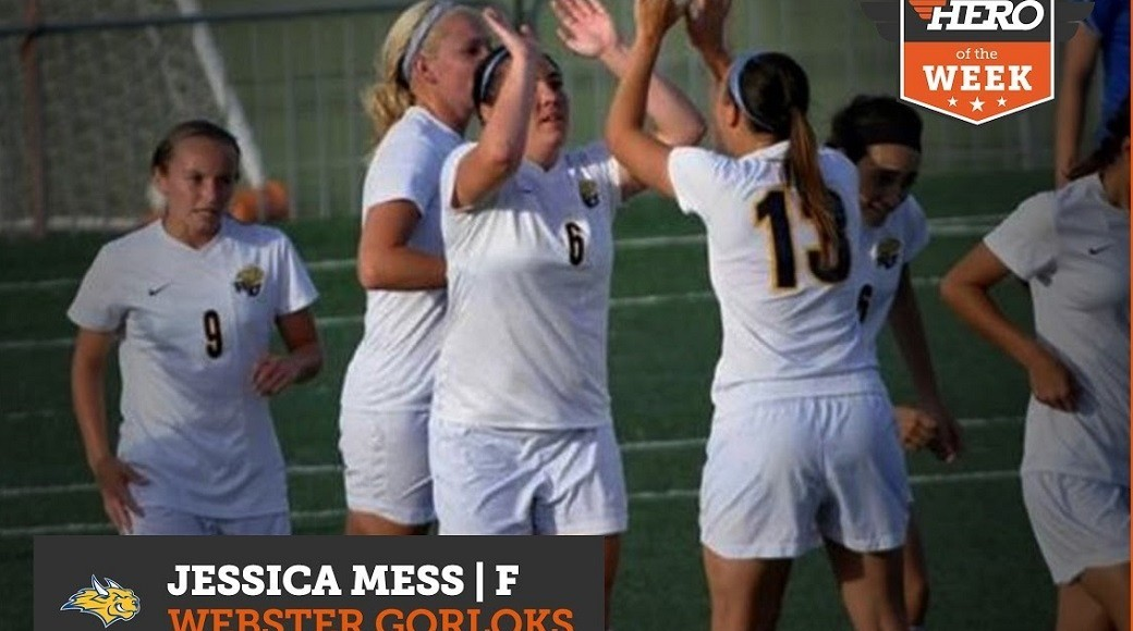 Webster's Mess Voted HeroSports.com HERO of the Week