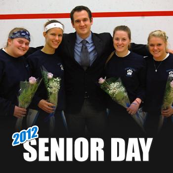 Squash Celebrates Senior Day With Shutout Victory Over Connecticut College
