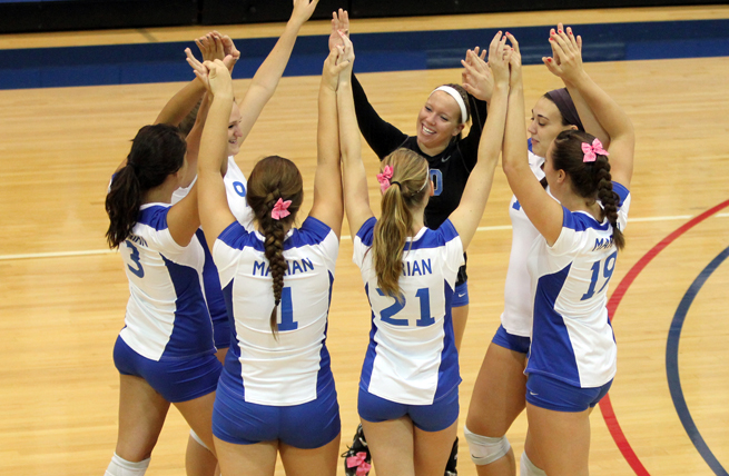 Marian Overwhelmed by Edgewood in Straight Sets