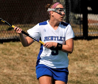 Geiger, Cerny Lead Women's Lacrosse to 4th Straight, 20-6 over Franklin Pierce