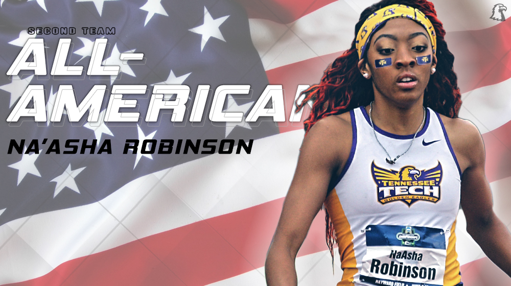 Robinson named to the 2017 USTFCCCA Outdoor All-American Second Team