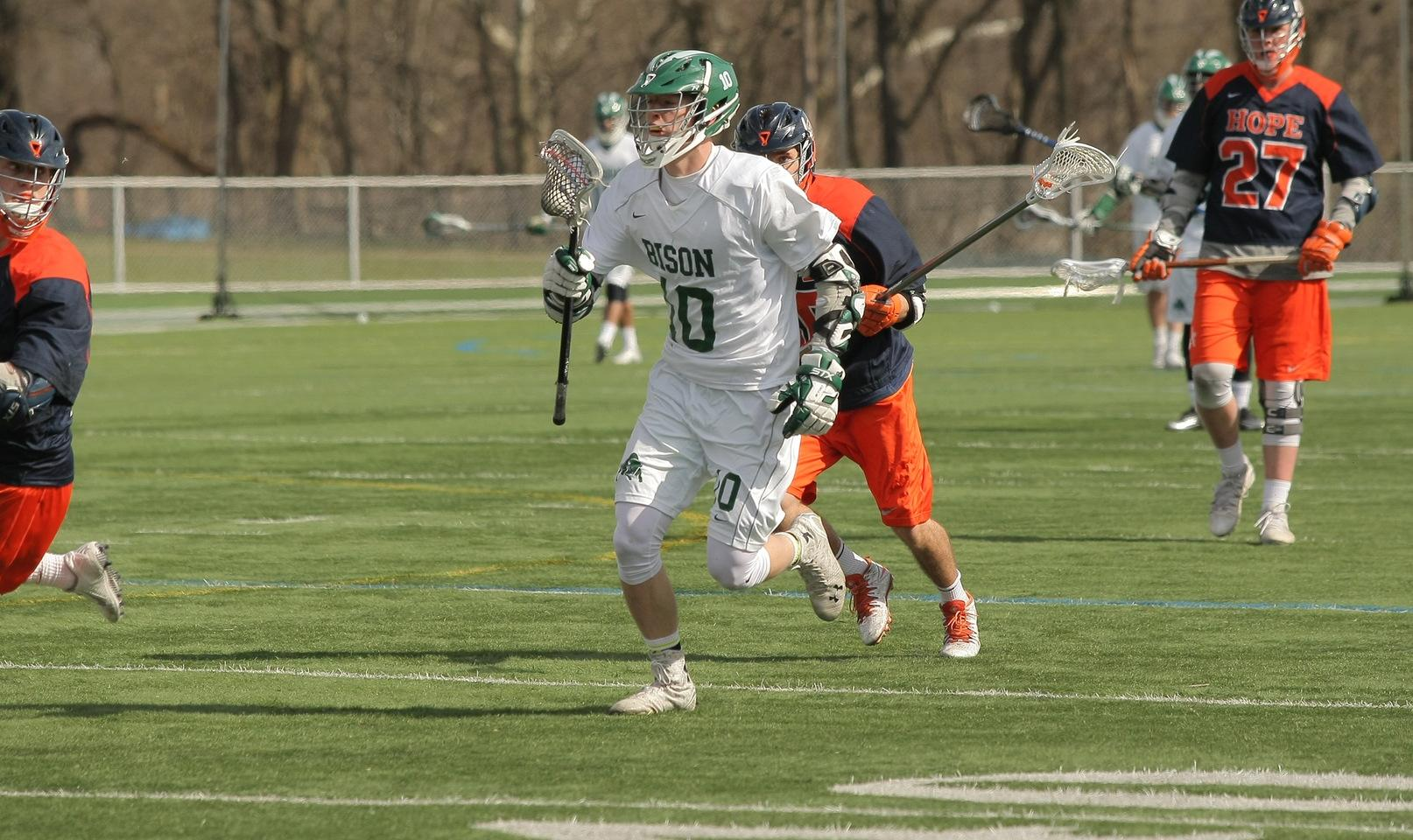 Men's lacrosse slotted seventh in ORLC Preseason Poll