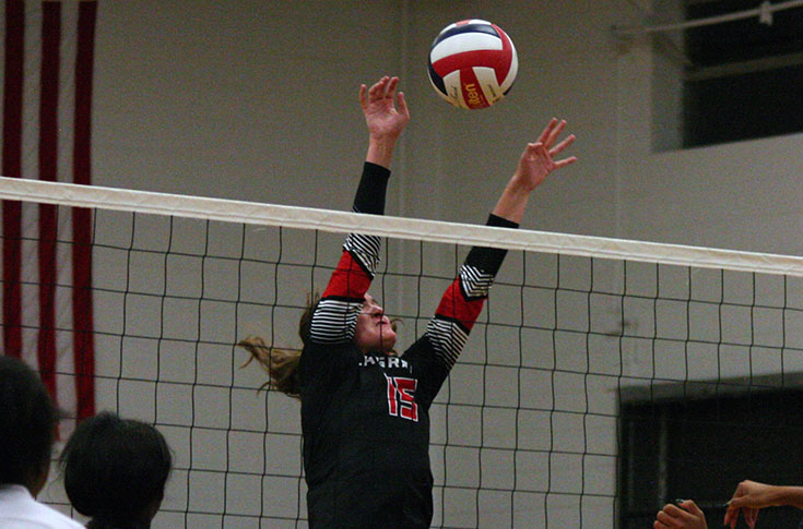 Volleyball: Panthers defeat Sewanee at Blues City Invite