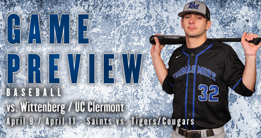Thomas More Hosts Wittenberg and UC Clermont This Week