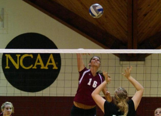 Volleyball Comeback Stalls in 3-1 Loss at Meredith