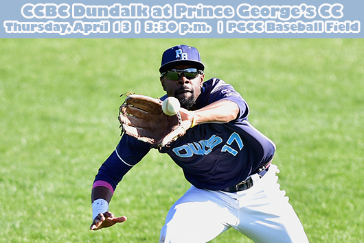 Prince George's Baseball Opens Six-Game Homestand Against CCBC Dundalk On Thursday