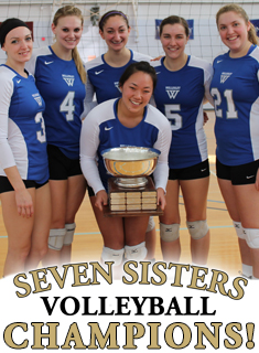 Blue Volleyball Wins 2013 Seven Sisters Championship