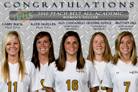 Lady 'Canes receive All-Academic honors