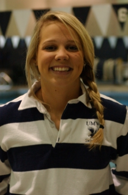 UMW's Crockett Named CAC Co-Swimmer of the Week