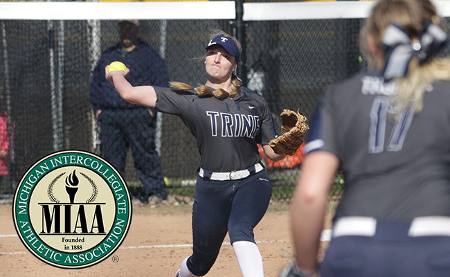 Kampmann Named MIAA Pitcher of the Week