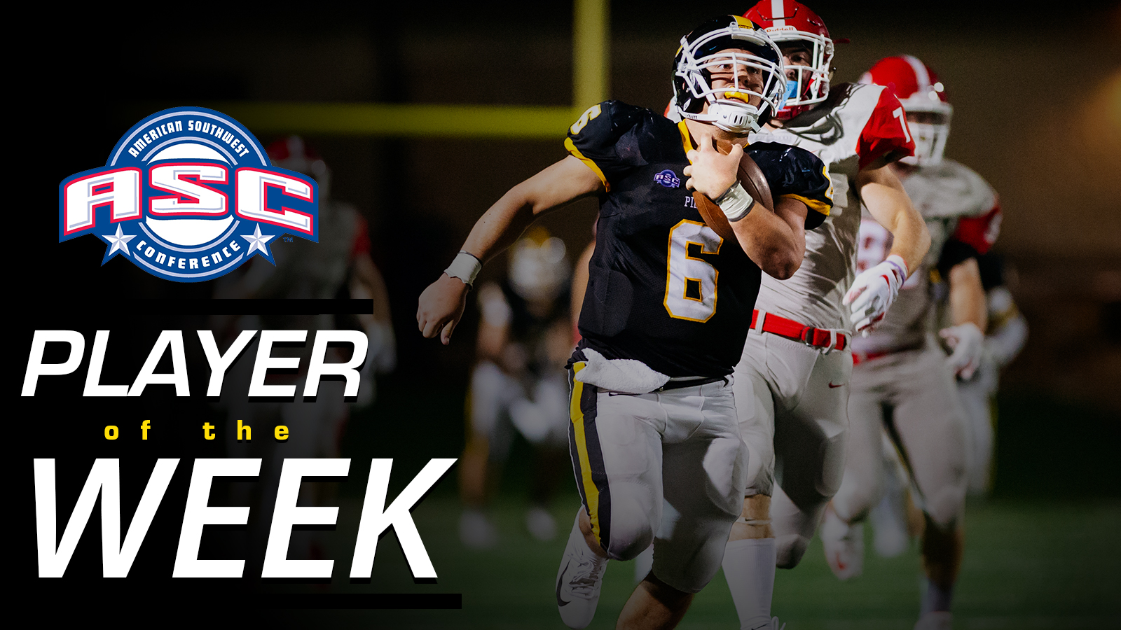 Hover Named ASC Co-Offensive Player of the Week