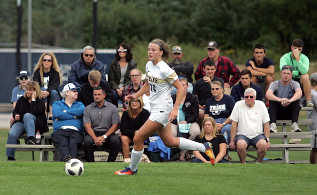 Women's Soccer Shuts Out Grizzlies