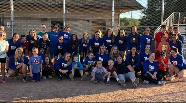 PITT-BRADFORD SOFTBALL TAKES THE FIELD WITH CARE FOR CHILDREN