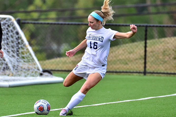 Second-Half Scoring Lifts Women's Soccer Past Fredonia