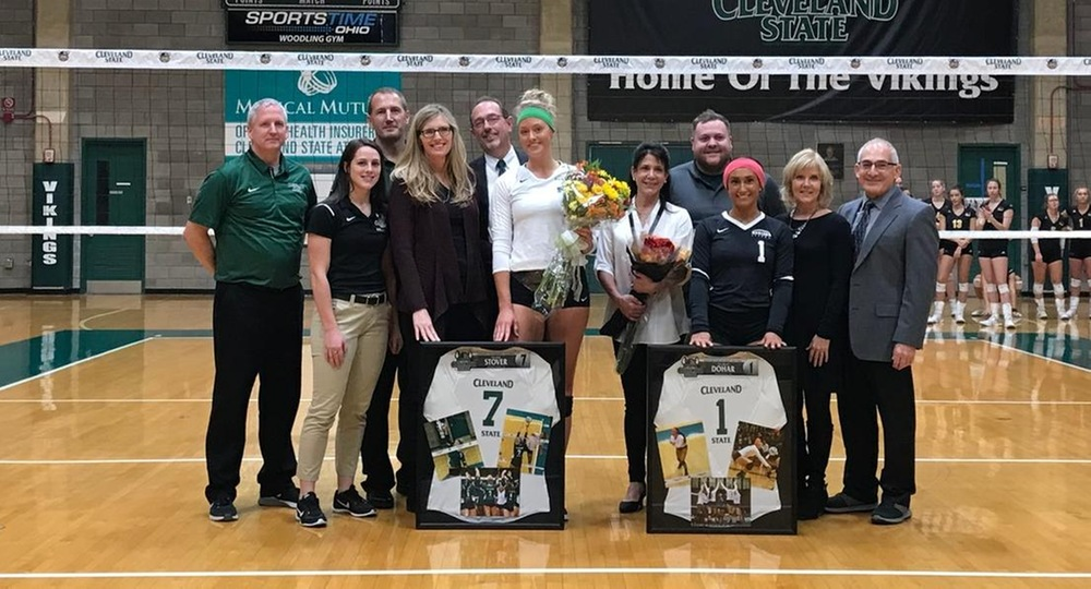 Dohar & Stover Lead Vikings To 3-1 Victory Over Milwaukee On Senior Day