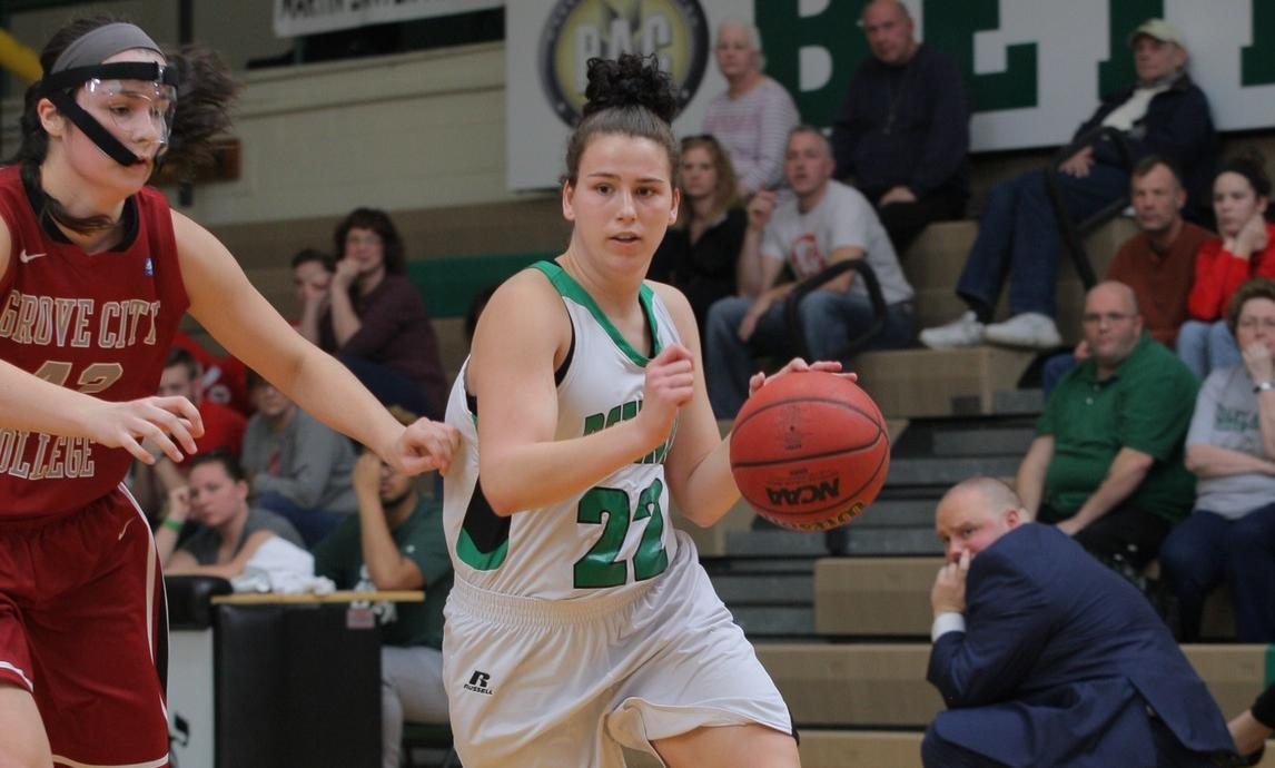 Women's Basketball bows out of PAC Tournament to Chatham, 74-61