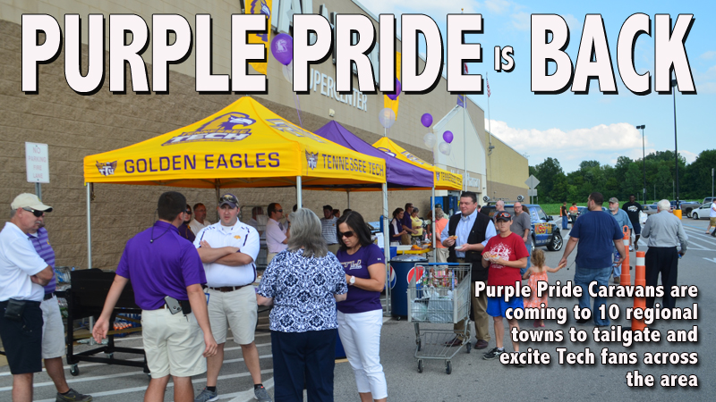 Purple Pride covers the region with July, August Caravans