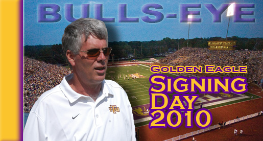 Bulls-eye: Tech football coaching staff hits target with 2010 signees