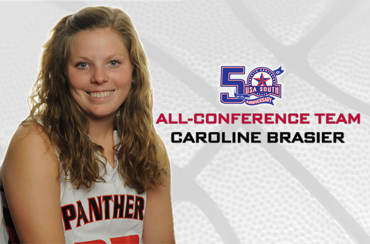 Women's Basketball: Brashier named to 2013-14 USA South All-Conference team