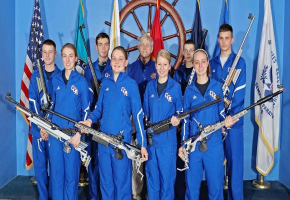 Conference Honors Coast Guard Rifle Team Members