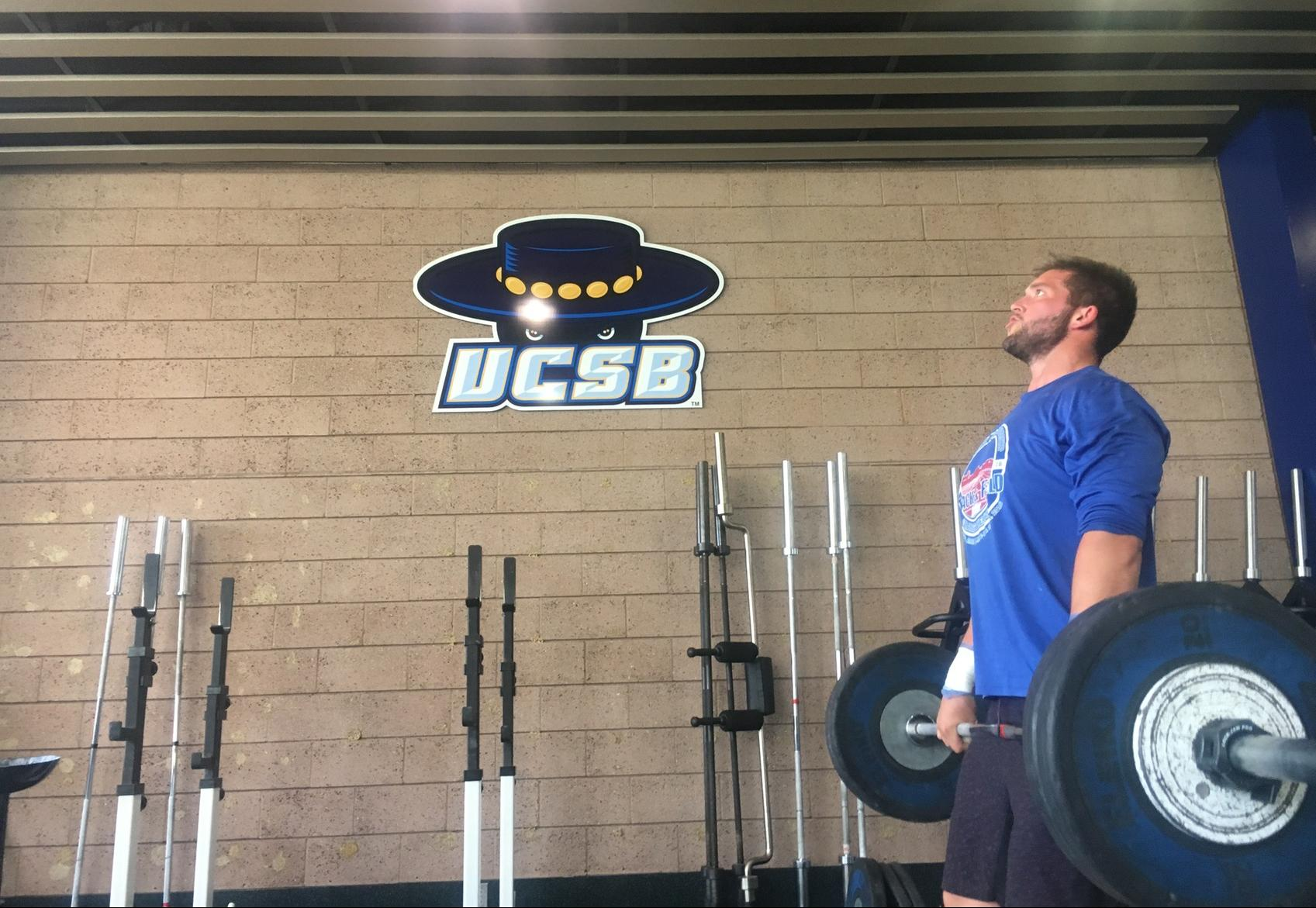 Leach Breaks 200 Foot Barrier in Hammer to Lead Gauchos at UC Riverside