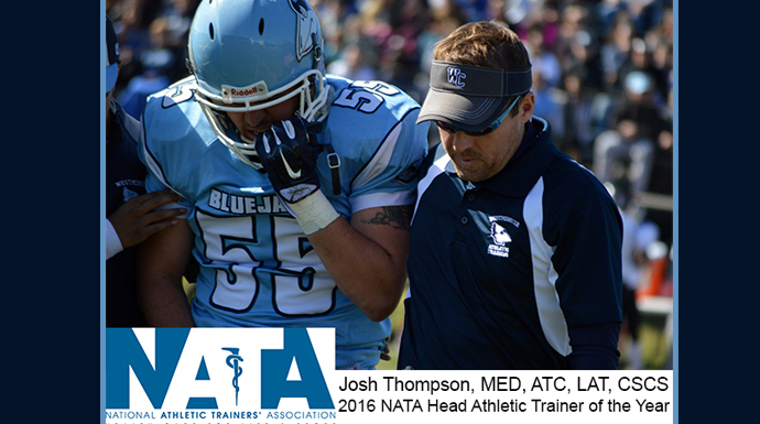 Westminster's Thompson Named NATA D3 Trainer of the Year