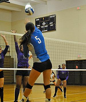 Powell Notches 17 Kills as Wildcats Sweep PSU Mont Alto 3-0