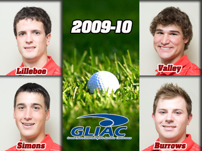 Four Ferris State Golfers Attain All-Conference Recognition