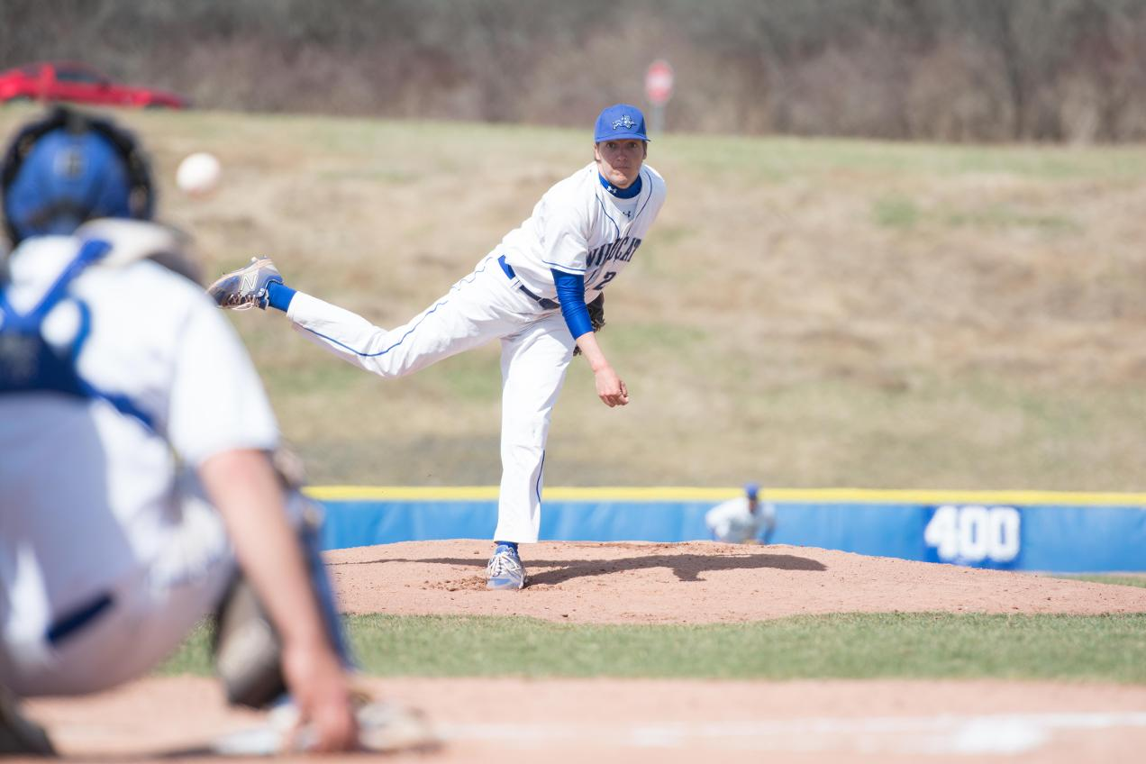 Baseball Gets Two Big Conference Wins Over NEAC-Leading Penn State Abington
