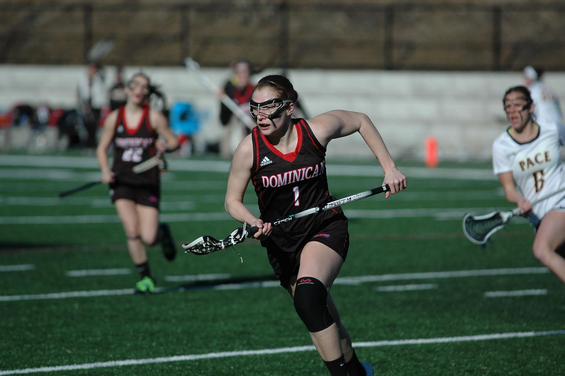 FIRST HALF RUN LEADS SPARTANS OVER WOMEN'S LACROSSE