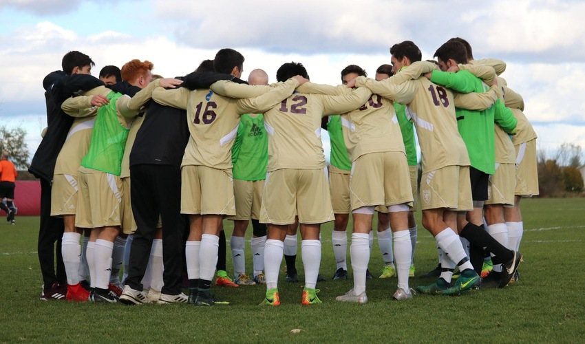 Men's Soccer Tabbed as MIAA's Seventh-Best Team in Coaches' Poll