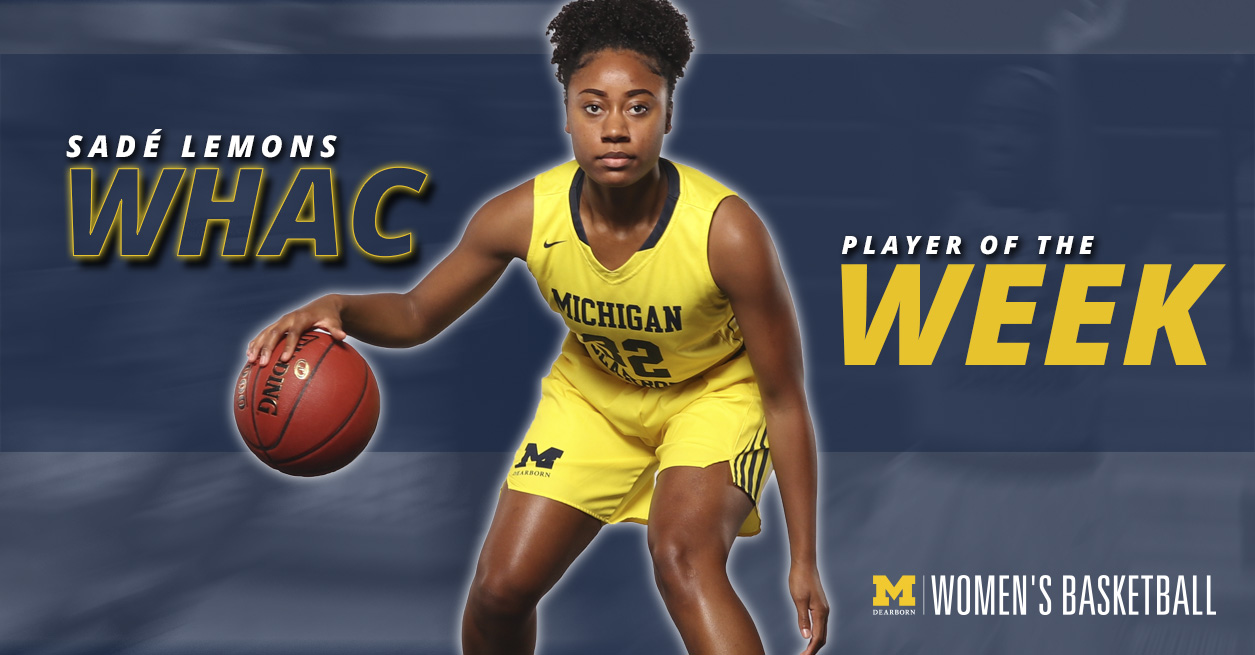 Lemons named WHAC Player of the Week