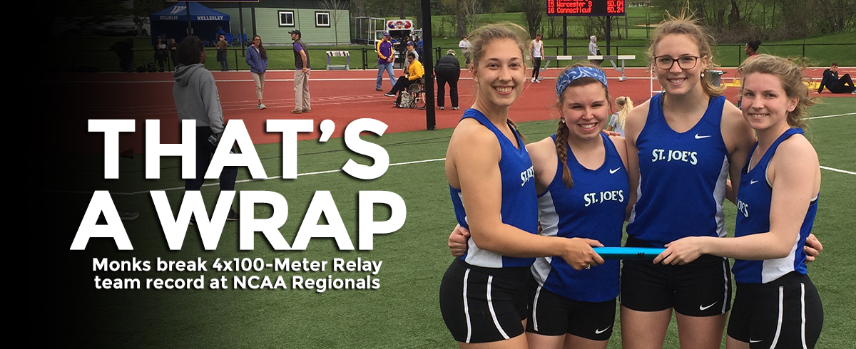SJC 4x100-Meter Relay Team Sets New Record at NCAA Regional