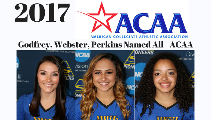 2017 All-ACAA Volleyball Selections