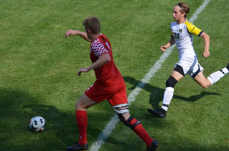 Men's soccer team ends non-conference schedule with 3-1 loss to Michigan-Dearborn