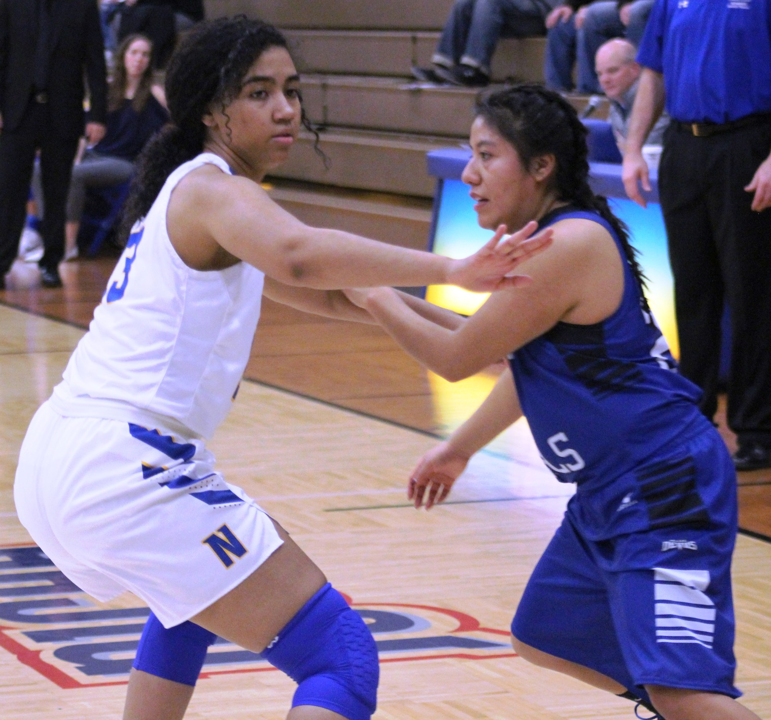 NIACC's Tahya Campbell (left) returns for her sophomore season.