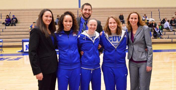 Women's Basketball cruises past Dominican on Senior Day