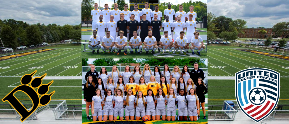 Men's and Women's Soccer Teams Earn Team Academic Award From the United Soccer Coaches