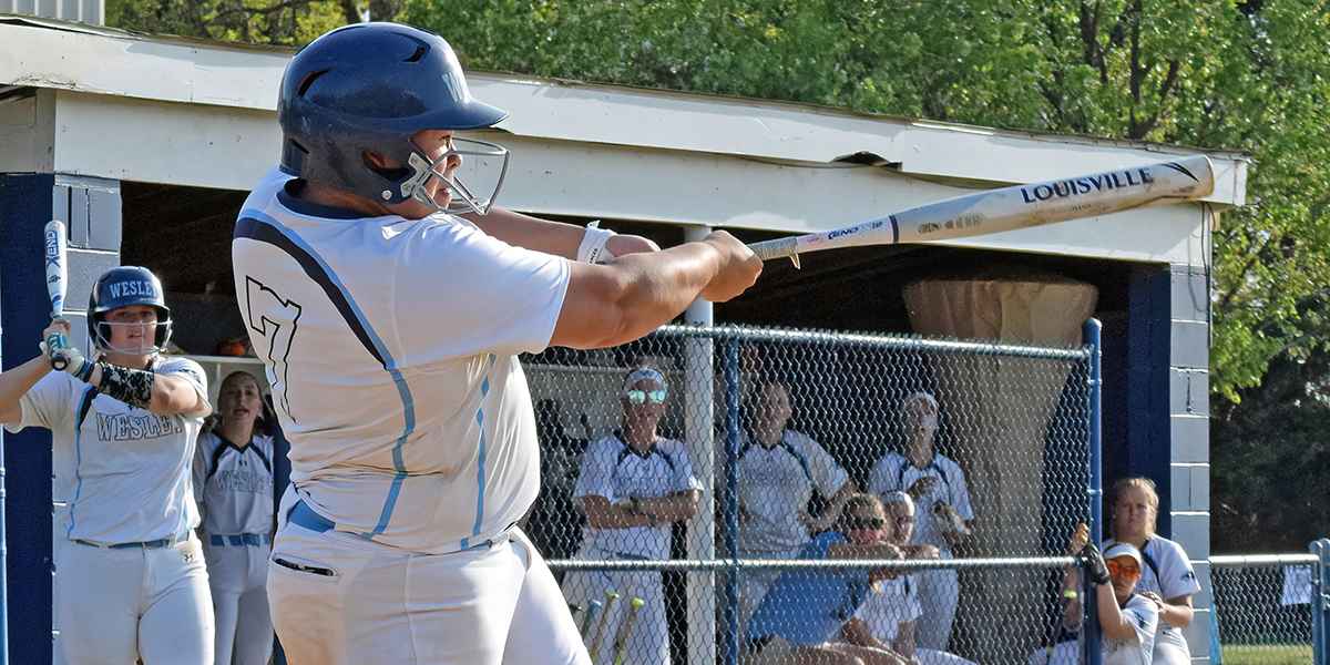 Dalious homers twice against Neumann, Softball clinches fifth seed in Atlantic East Tournament