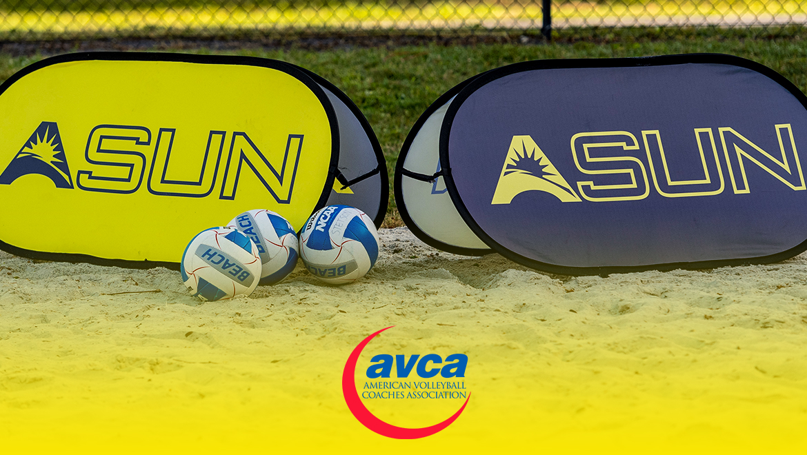 Eight @ASUNVolleyball Programs Honored for Academics by AVCA