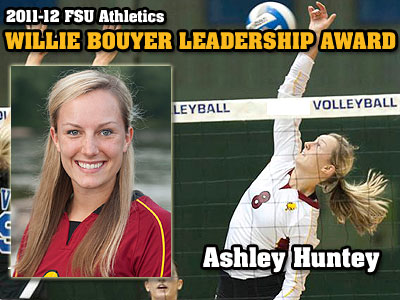 Huntey Chosen As Bouyer Leadership Recipient