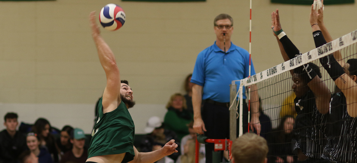 Volleyball team tops Nichols for third straight win