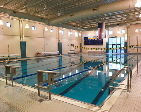 Gallaudet's first swim meet moved to Field House pool