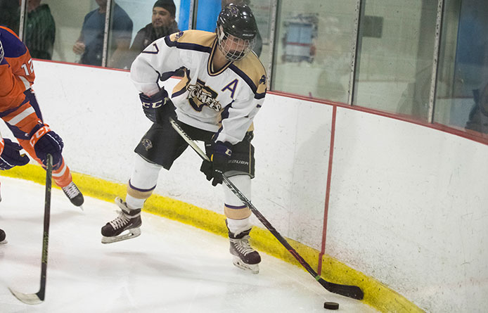 Purple Knights Finish Weekend with 4-1 Loss to Franklin Pierce