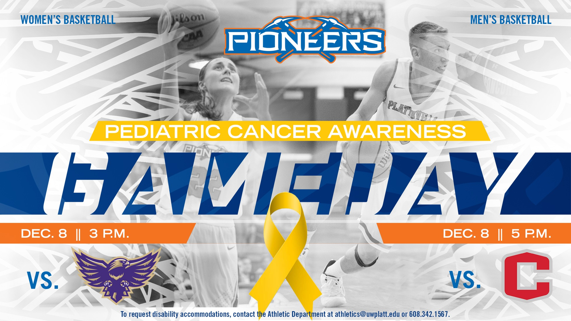 Pioneer basketball teams gear up for Pediatric Cancer Awareness games