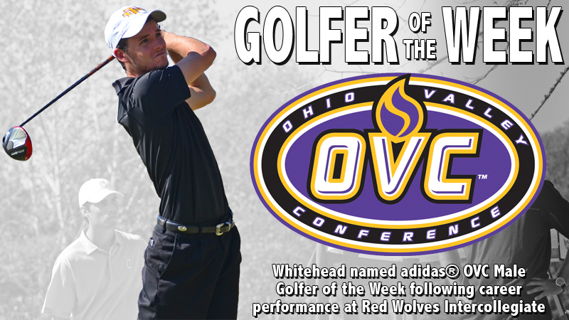 Whitehead captures second career adidas® OVC Male Golfer of the Week honors