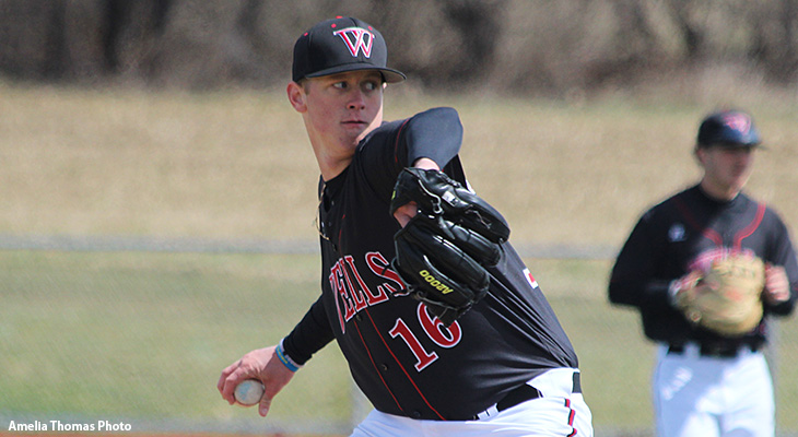 Baseball Splits Games Against Cabrini