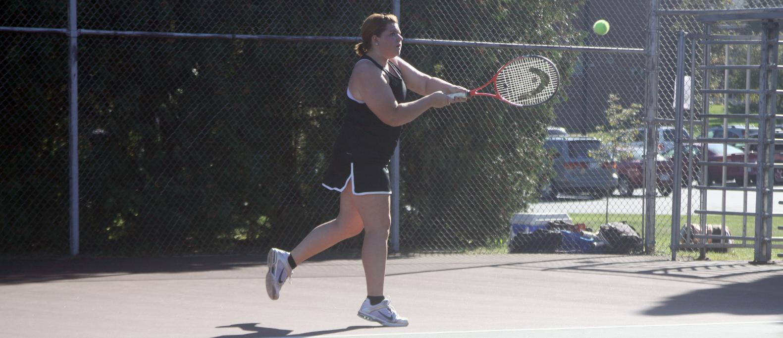 Bower, Gilley singles wins lead Spartans